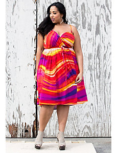Lani Wrap Dress by SWAK Designs