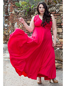 Eternity Convertible Maxi Dress (Classic Shades) by Sealed With a Kiss Designs