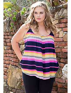 Pretty Cami (Stripes) by SWAK Designs