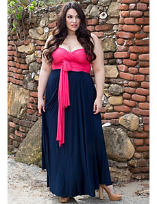 Eternity Convertible Maxi Dress (Romance) by SWAK Designs