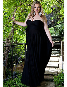Eternity Maxi Convertible Dress in Black by Sealed With a Kiss Designs