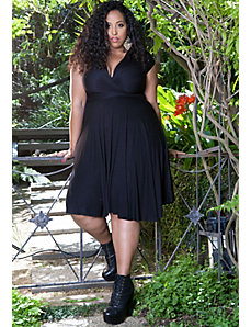 Eternity Convertible Dress in Black by Sealed With a Kiss Designs