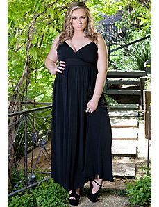 Sabrina Maxi Dress in Black by Sealed With a Kiss Designs