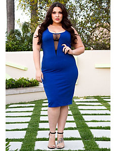 Raven Tank Dress in Royal Blue by Sealed With a Kiss Designs