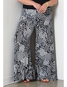 Printed Classic Jersey Pants (Basic) by Sealed With a Kiss Designs