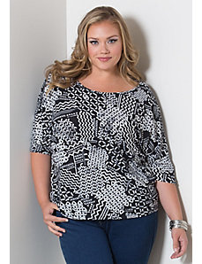 Cheyenne Jersey Top by Sealed With a Kiss Designs