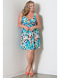 Marsha Tank Dress by Sealed With a Kiss Designs
