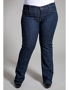 Nyra Medium Wash Bootcut Jeans by SWAK Designs