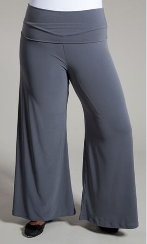 Perfect Palazzo Pants in Grey