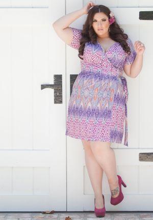 Evangaline Wrap Dress