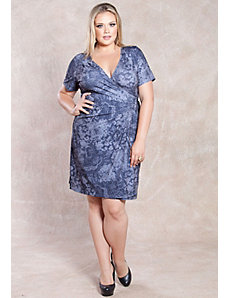 Chantilly Wrap Dress by SWAK Designs