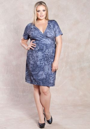 Chantilly Wrap Dress