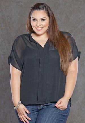 Melanie Chiffon Blouse