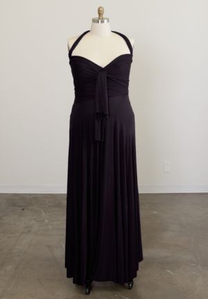 Eternity Convertible Maxi Dress (Berry Shades)