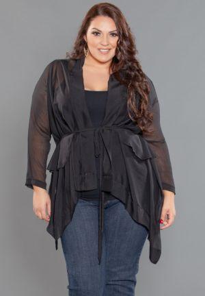 Naomi Chiffon Jacket