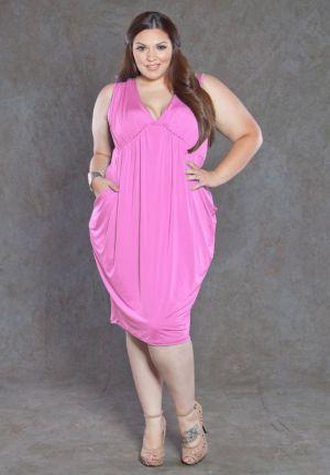 Pocket Drape Dress