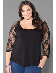 Ruby Lace Top by SWAK Designs