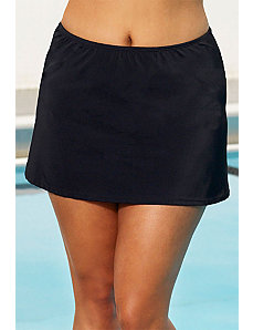 Aquatic Black Skirt by Beach Belle