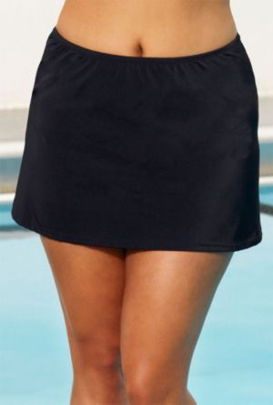 Aquatic Black Skirt