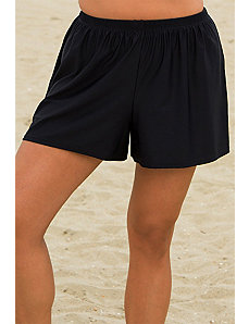 Aquatic Black Short by Beach Belle