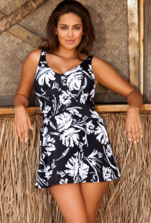Splash V-Neck Swimdress