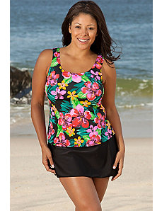 Montego Bay Tank Skirtini by Beach Belle