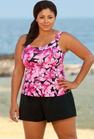 Honolulu Pink Tank Shortini