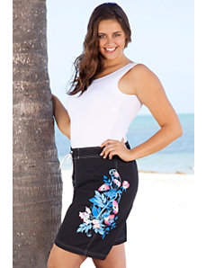 Isla Long Board Shorts by Beach Belle