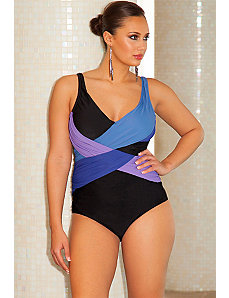 Crossover Swimsuit by Infinity Blu