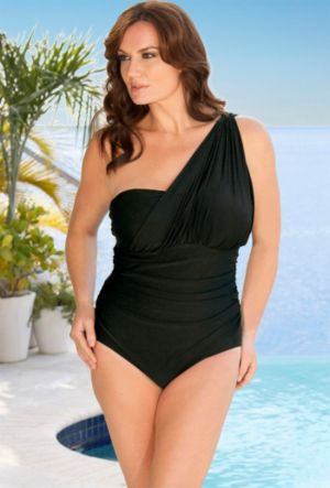Eclipse 1 Shoulder Swimsuit