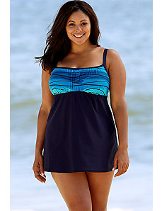 Ocean Motion Lingerie Swimdress by Delta Burke