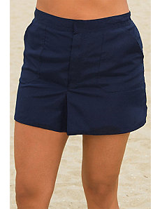 Navy Cargo Short by Beach Belle
