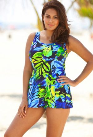 Navy Princess Swimdress