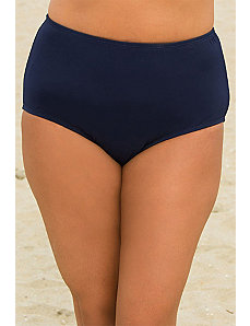 Navy Brief Bottom by Beach Belle