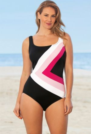 Perfection Spliced Swimsuit
