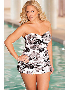 Penbrooke Villa d'Este Ruffle Bottom Swimdress by Penbrooke