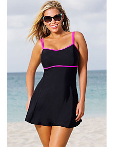 Cerise Lingerie Swimdress by Beach Belle