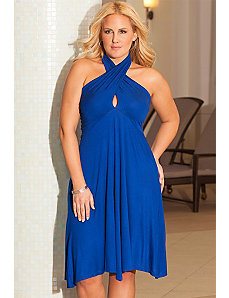 Cobalt 6-in-One Convertible Dress by b. belle