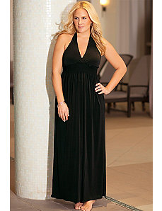 Punaluu Halter Maxi Dress by b. belle