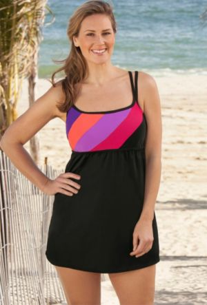 Coral Perfect Angle CrossBack Swimsuit