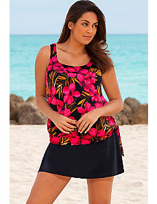 Oasis Blouson Skirtini by Beach Belle