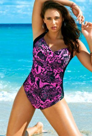 Stingray Twist Front Swimsuit