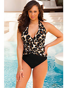 Luxe Halter Swimsuit by Infinity Blu