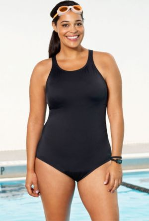 Chlorine Resistant! High Neck Swimsuit