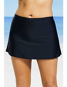 Black Side Slit Skirt by Beach Belle