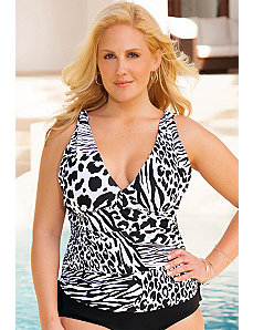 Zoo Side Tie Top by Swim Sexy