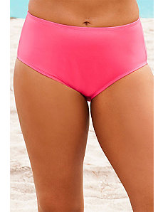Pink Plus Size Brief by Beach Belle