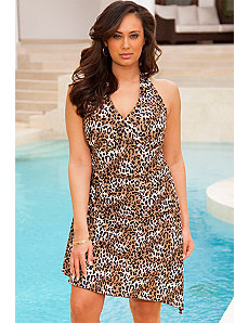Leopard Convertible Swimdress by Swim & Sun