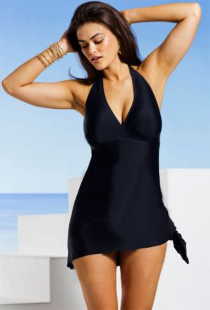 Black Convertible Swimdress