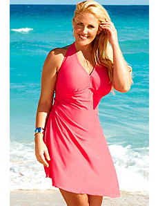 Marilyn Coral Convertible Swimdress by Swim & Sun